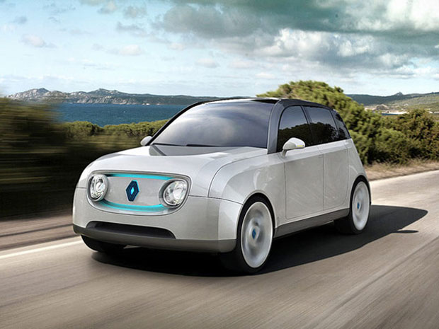 Carro conceito da Renault se integra às necessidades de uma comunidade (Foto: Reprodução)