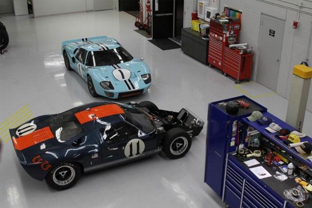 Cientistas usaram pilotos experientes e clássicos Ford GT40 para colher os dados (Foto: Reprodução)