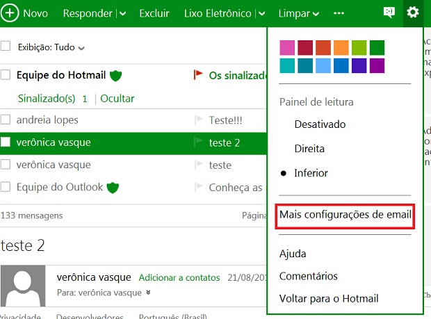 Personalize a sua conta com mais informações pessoais (Foto: Reprodução/Verônica Vasque)