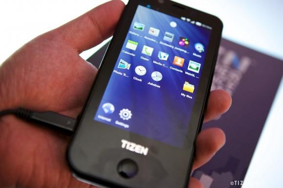 O Samsung Tizen em ação (Foto: Reprodução)