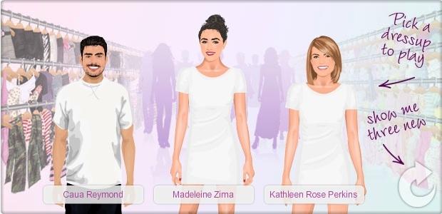 Em Stardoll, você pode vestir as celebridades da forma que quiser (Foto: Reprodução)