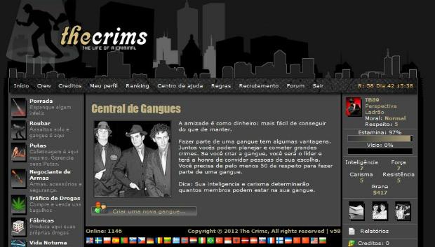 Criar gangues é importante para ganhar ainda mais respeito (Foto: Reprodução)