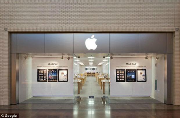 Loja da Apple no NorthPark foi vítima de acusações graves (Foto: Reprodução)