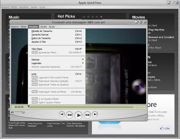 Aumentando o tamanho da janela do vídeo (Foto: Reprodução/Edivaldo Brito)