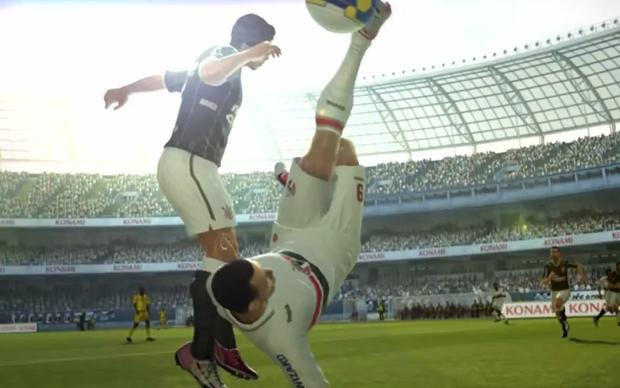 Clubes brasileiros estarão na segunda versão demo de PES 2013 (Foto: Divulgação)