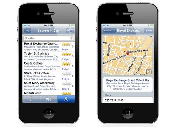TomTom atualiza seu aplicativo iOS para versão 1.11 e agora permite busca pelo Foursquare Foto Reprodução (Foto: TomTom atualiza seu aplicativo iOS para versão 1.11 e agora permite busca pelo Foursquare Foto Reprodução)