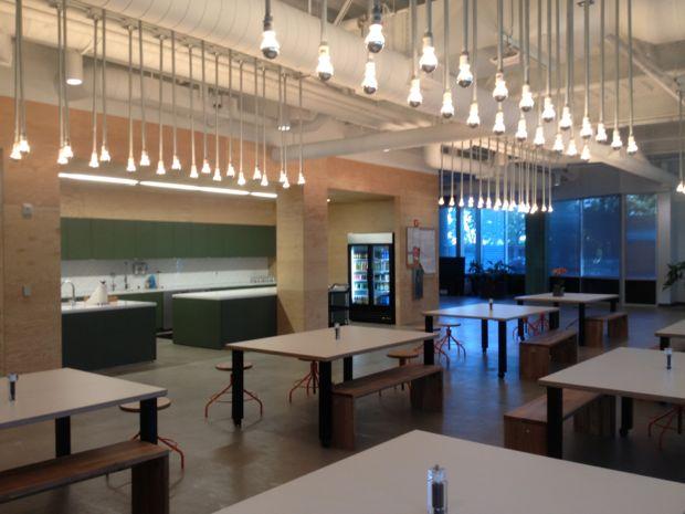Restaurante da Evernote (Foto: Nick Ellis)