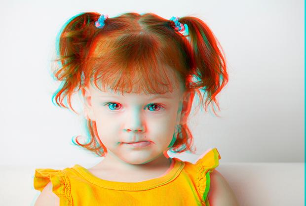 3D Anáglifo (Foto: Reprodução/André Fran)