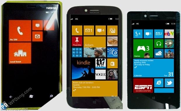 Nokia Phi, Arrow e Atlas, o trio Windows Phone 8 (Foto: Reprodução)