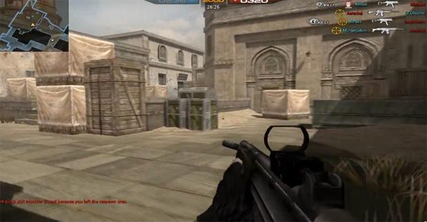 Mapa é inspirado em de_dust2, com direito ao local de bombas (Foto: Reprodução)