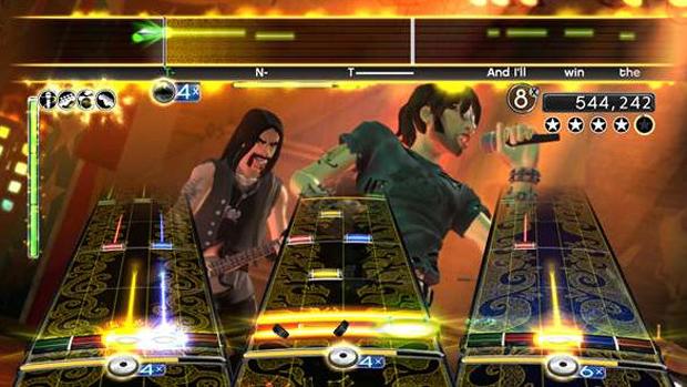 Rock Band 2 (Foto: Divulgação)