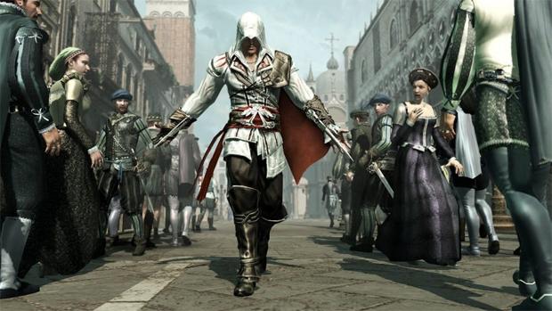 Ezio te dá um troféu ou conquista ao nascer (Foto: Divulgação)