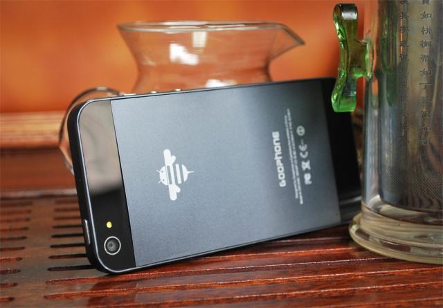 O clone do iPhone 5 já está à venda, na China (Foto: Reprodução)