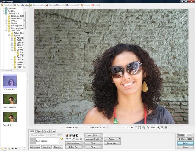 """Faça o upload da foto no meu """"Editor"""" (Foto: Reprodução)"""