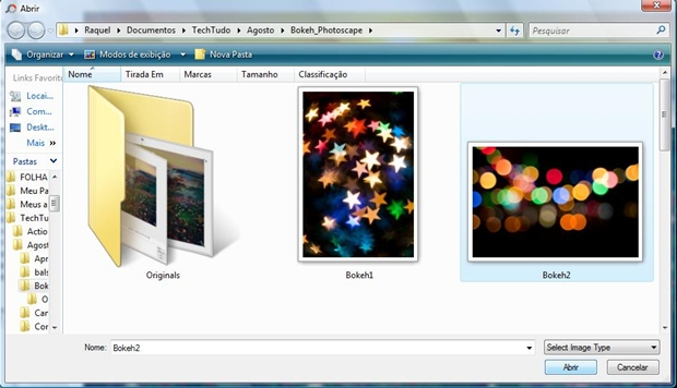 Imagem com as bolhas dará o efeito desejado (Foto: Reprodução)