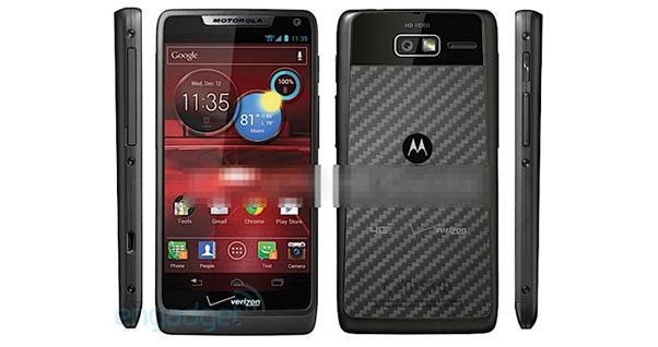 Novo Motorola Droid Rarz M virá com 4G e dual-core (Foto Reprodução Engadget)