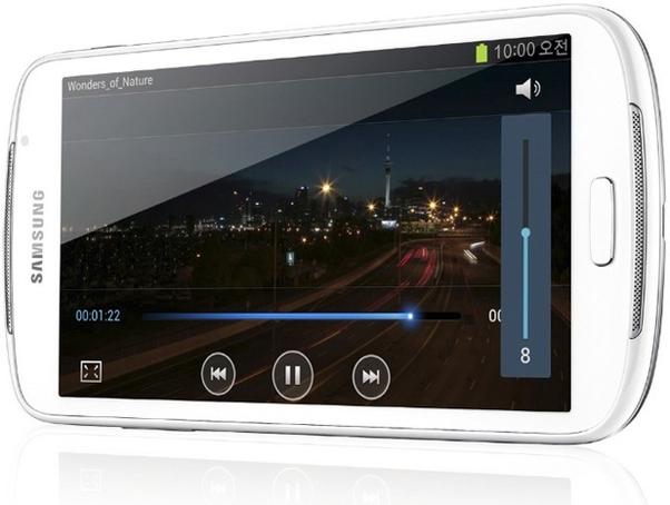 O Galaxy Player 5.8 terá processador dual-core e Android 4.0.4 Ice Cream Sandwich (Foto Reproduçao)