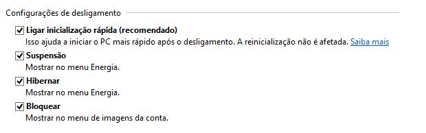 Ativando a hibernação no Windows 8 (Foto: Reprodução/Helito Bijora)