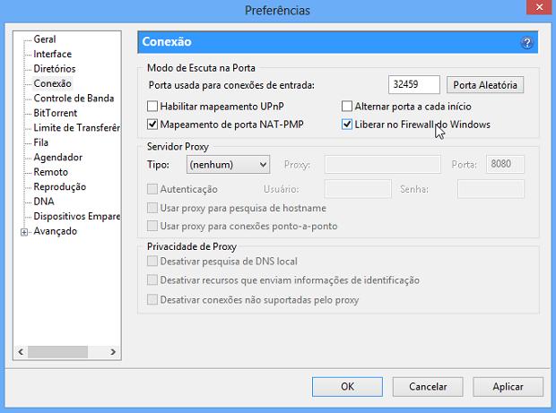 Liberando firewall do Windows (Foto: Reprodução/Helito Bijora)