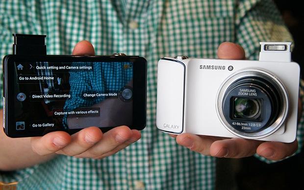 Samsung Galaxy Camera (Foto: Reprodução/Engadget)