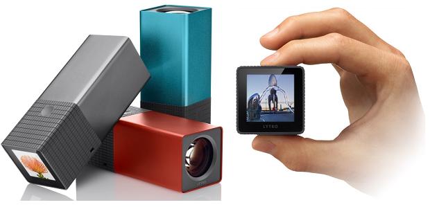 A câmera Lytro, destaque para seu tamanho compacto e tecnologia de foco por software (Foto: Reprodução)