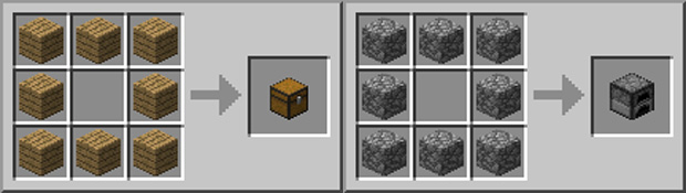 Passo 11 - Como fazer um Baú e um Fogão em Minecraft (Foto: Rafael Monteiro)
