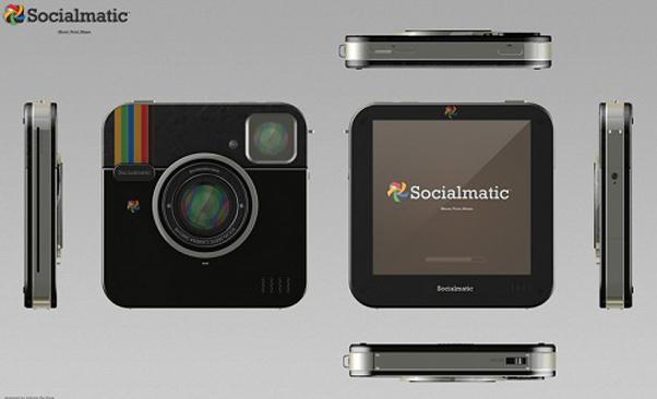 Socialmatic, a câmera do Instagram, tem lançamento previsto para 2013 (Foto Divulgação) (Foto: Socialmatic, a câmera do Instagram, tem lançamento previsto para 2013 (Foto Divulgação))