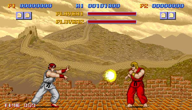 O primeiro Street Fighter (Foto: Reprodução)