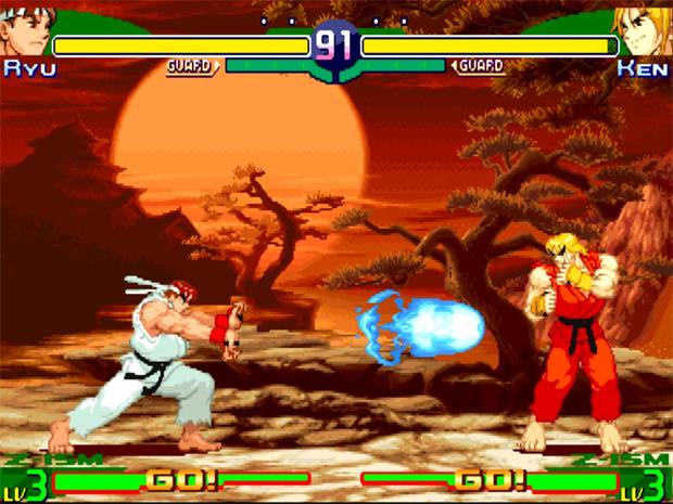 Street Fighter Alpha (Foto: Reprodução)