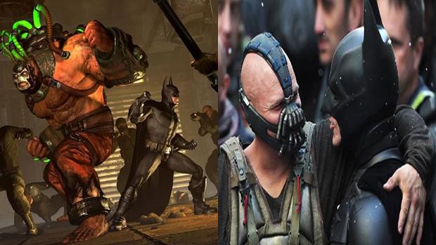 Bane e Batman deixando as diferenças de lado (Foto: Divulgação)