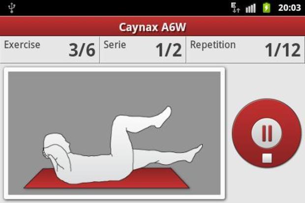 Caynax Aerobic Weider Six  (Foto: Divulgação)