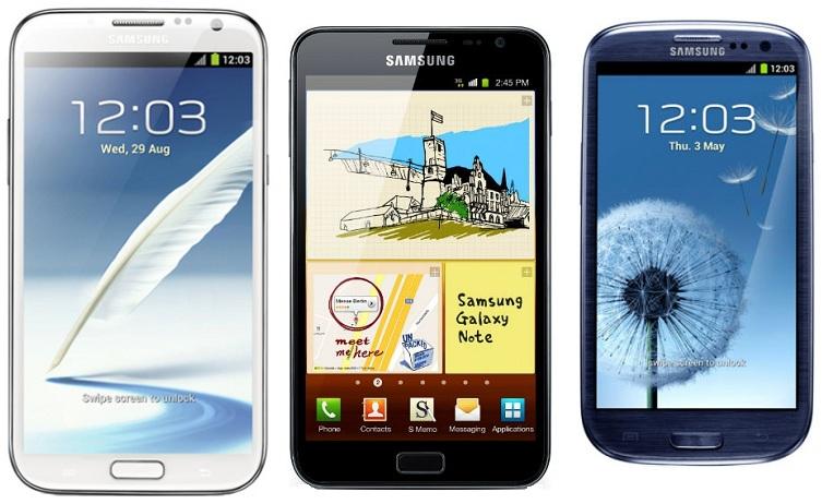 Embate entre os três mais poderosos da Samsung (Foto: Reprodução)