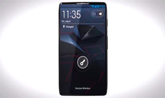 Motorola pode lançar aparelho com tela em toda sua frente (Foto: Reprodução)
