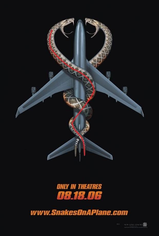 """Material de divulgação de """"Serpentes a bordo"""" (Foto: Reprodução)"""