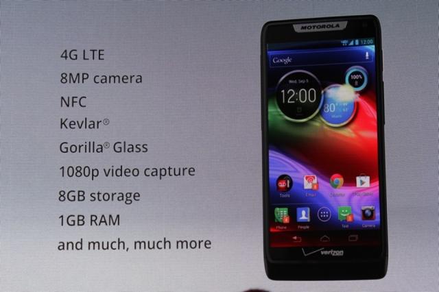 Motorola RAZR M é o mais básico dos novos modelos (Foto: Reprodução)