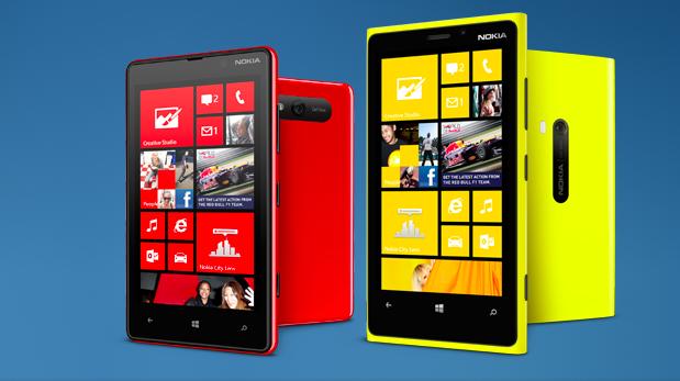 Windows Phone Lumia 820 e 920 apresentados pela Nokia (Foto: Reprodução)