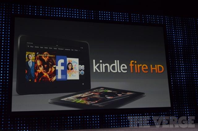 Kindle Fire HD custará apenas 159 dólares (Foto: Reprodução/The Verge)