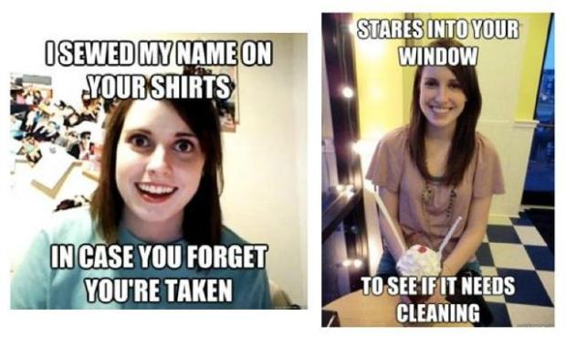 Meme 'namorada superapegada' ganhou outra versão na rede social Reddit (Foto: Reprodução)