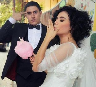 Foto bem humorada foi um dos destaques do casal (Foto: Reprodução)