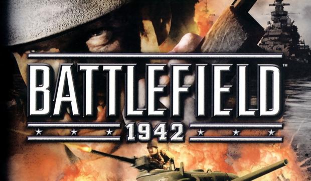 Battlefield 1942 - capa do primeiro lançamento - imagem retirada do site TechTudo