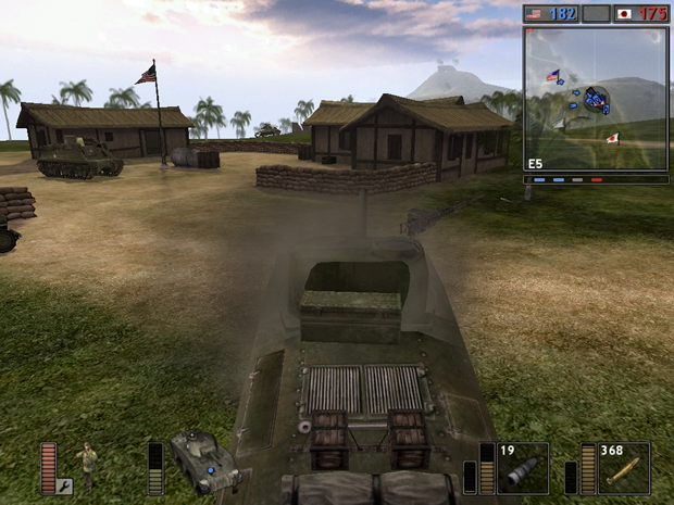 Veículos e captura de território marcaram o primeiro jogo (Foto: Divulgação)
