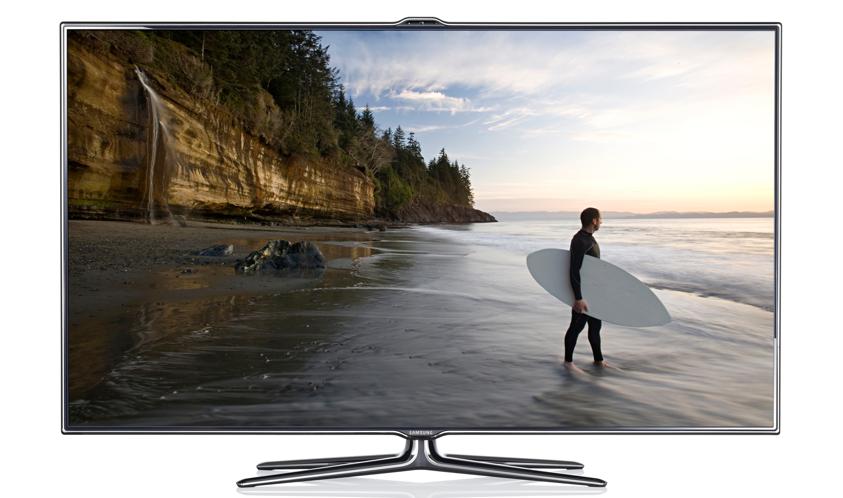 Samsung diz que sua TV é a Smart TV do futuro (Foto: Divulgação)