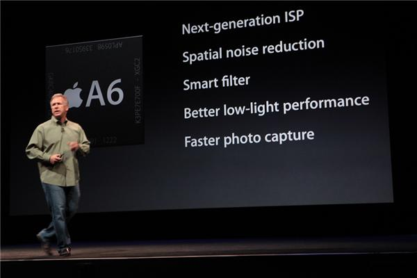 Nova câmera iSight vai integrar o iPhone 5 (Foto: CNET)