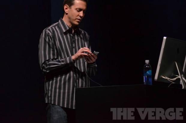 Scott apresentou o iOS 6 no evento da Apple (Foto: The Verge)