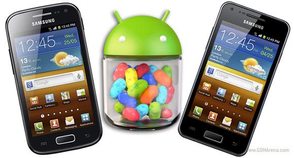 Os Galaxys Ace 2 e S2 Lite receberão o Jelly Bean até Dezembro (Foto: Reprodução)