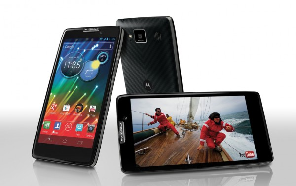 Motorola Razr HD, primeiro smartphone a ser vendido com 4G no Brasil (Foto: Divulgação)