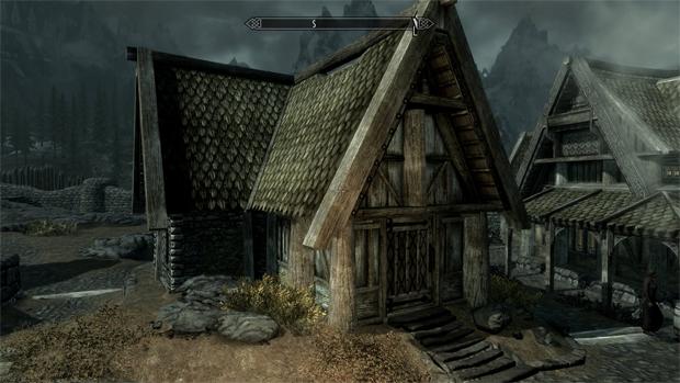 A casa própria em Skyrim (Foto: Divulgação)