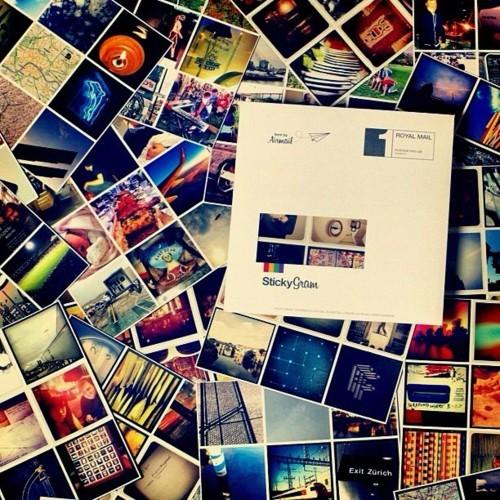 No Sticktagram  (Foto: Reprodução/Sticktagram)