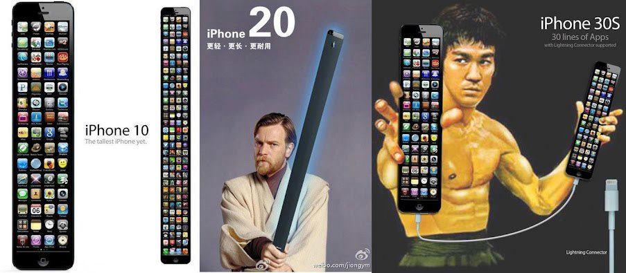 Как будет выглядеть айфон 20