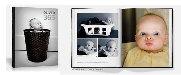 No Blurb você pode criar álbuns do jeito que quiser (Foto: Reprodução/Blurb)